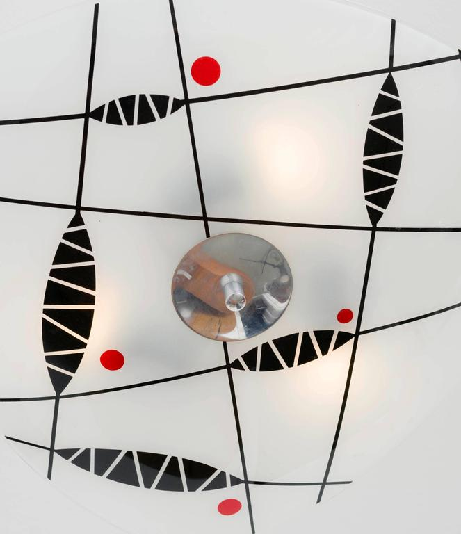 Ceiling Light By Napako 1960s For Sale At 1stdibs