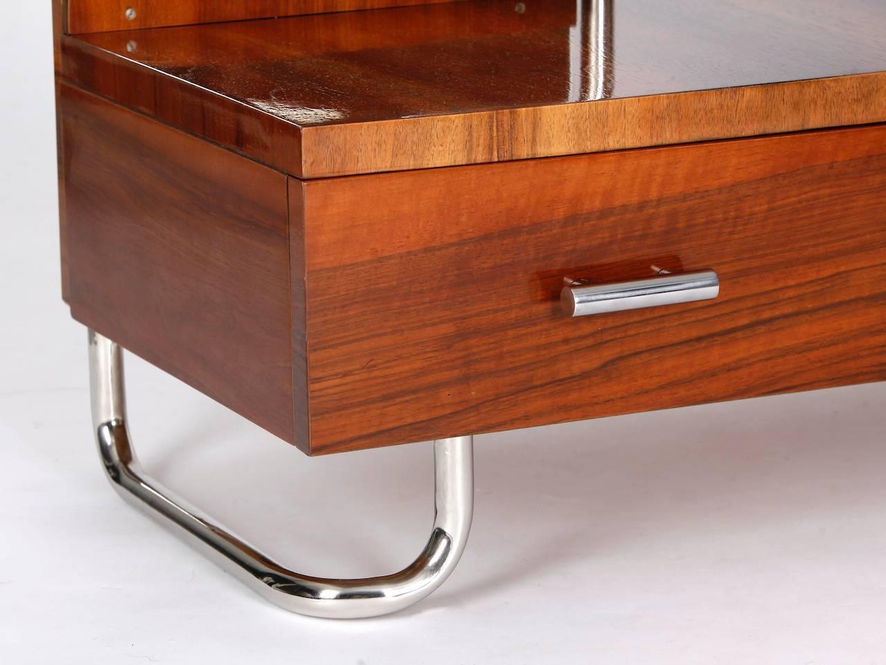Tubular steel dressing table from the s for sale at