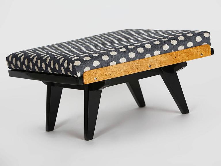 Mid-Century Modern Coffee Table or Footstool from Tatra, 1960s For Sale