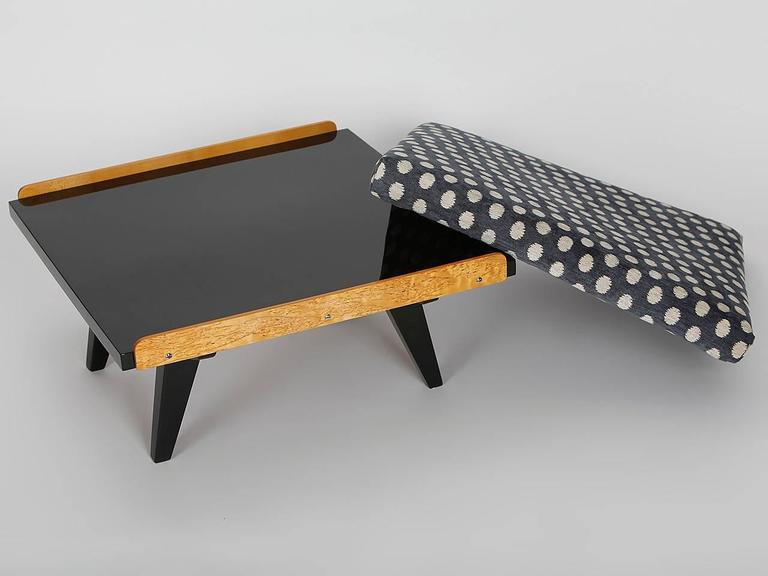 Czech Coffee Table or Footstool from Tatra, 1960s For Sale