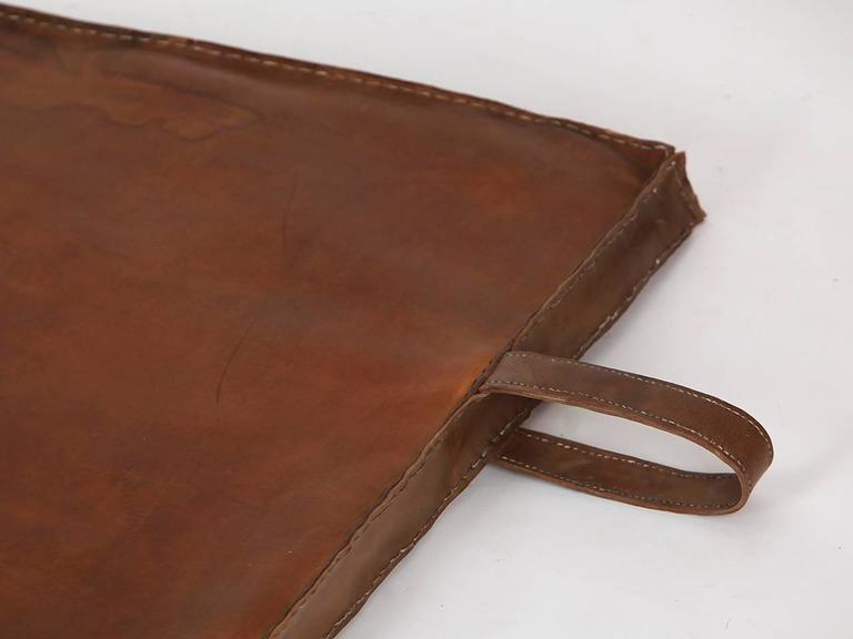 Vintage Leather Gymnastics Mat Nr.3, 1940s 4