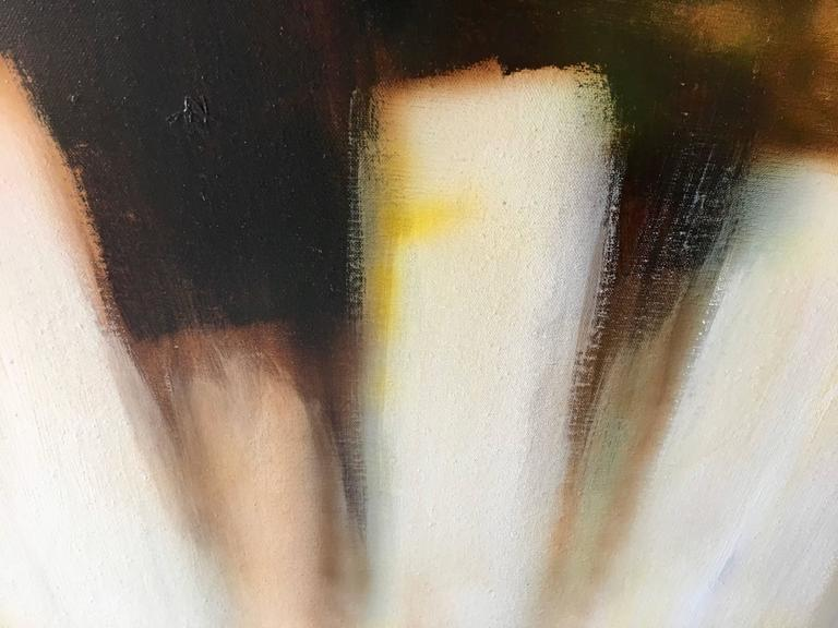 Mid-Century Modern Abstract Oil-on-Canvas Painting by Robert Lawson 8