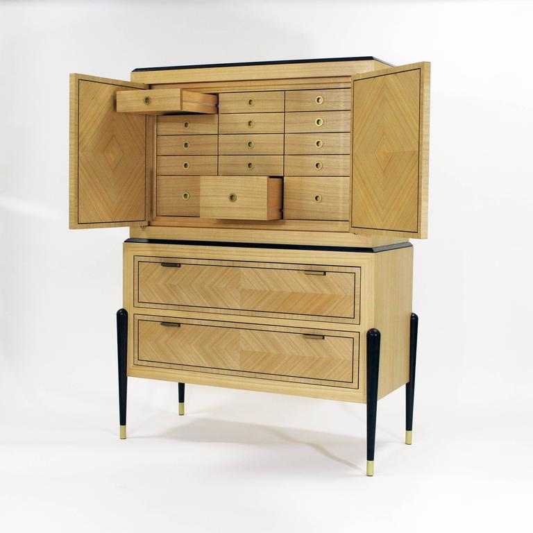 Shown in Sen & Wenge. Available in oak, walnut, maple, mahogany and ash. Made to order. Lead time 12-16 weeks.