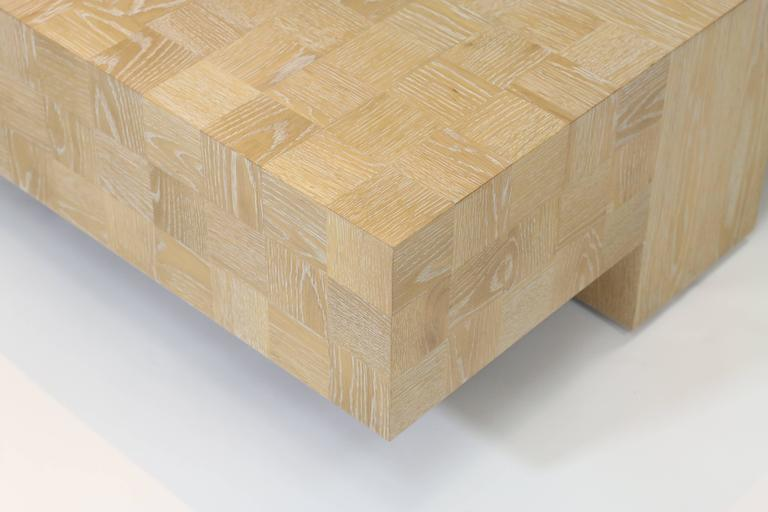 Quadra Oak Coffee Table 2