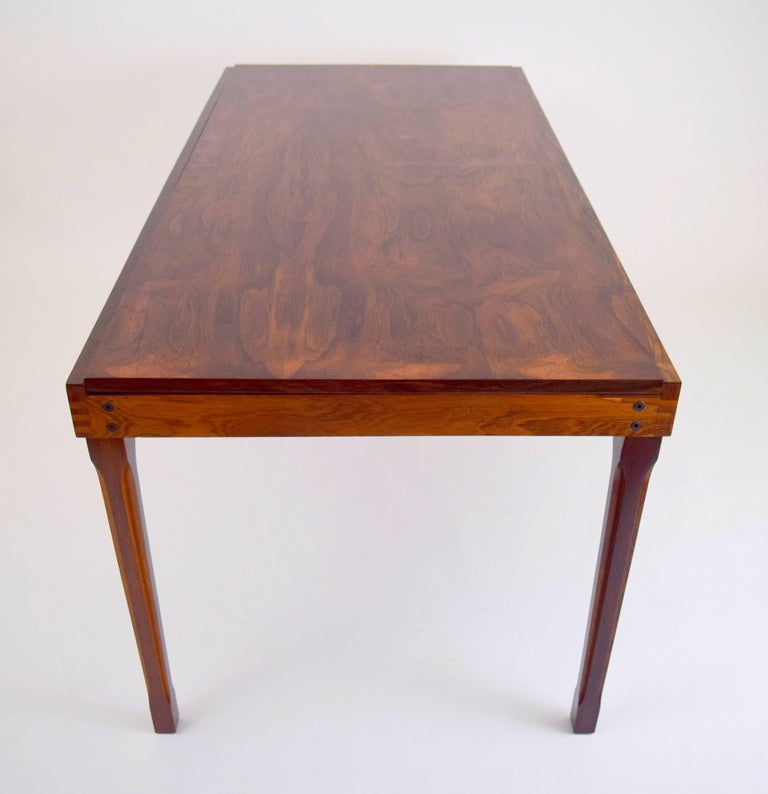 Ico Parisi Rosewood Expanding Dining Table for MIM For Sale 9