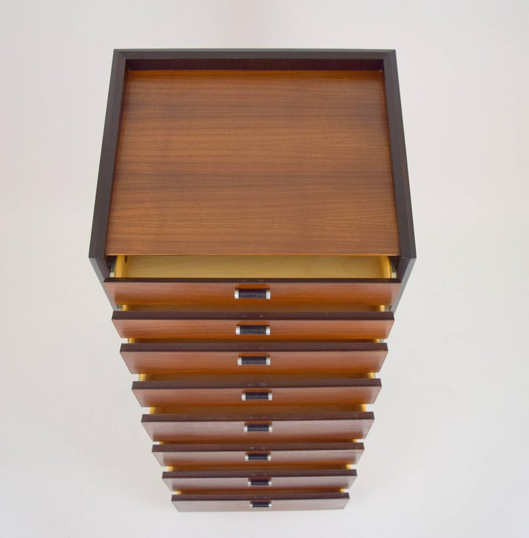 Milo Baughman Lingerie Chest for Glenn of California In Excellent Condition For Sale In Chicago, IL