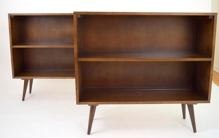 Paul McCobb Planner Group Modular Bookcases In Good Condition For Sale In Chicago, IL