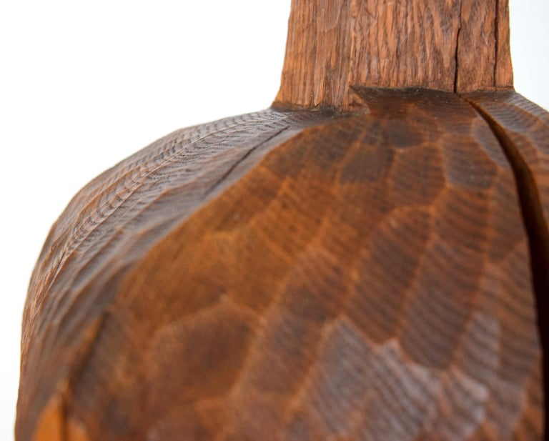 Walnut Early Hugh Townley Bulbous Wooden Sculpture, 1953 For Sale