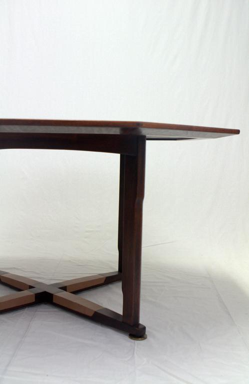 Edward Wormley Janus Game Table In Good Condition For Sale In Chicago, IL
