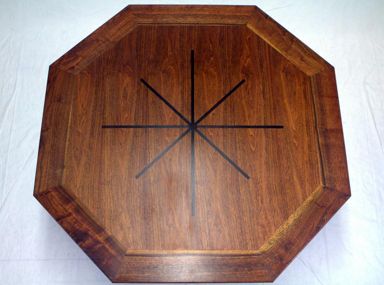 Mid-Century Modern Edward Wormley Janus Game Table For Sale