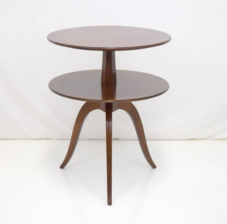 American Edward Wormley Tiered Table for Dunbar For Sale