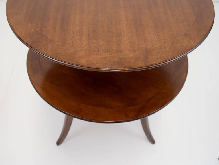 Edward Wormley Tiered Table for Dunbar In Good Condition For Sale In Chicago, IL