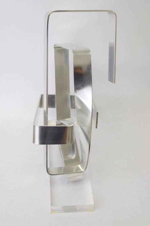 Dan Murphy Aluminum Ribbon Sculpture, 1977 3