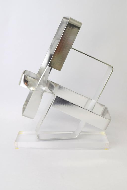 Dan Murphy Aluminum Ribbon Sculpture, 1977 4