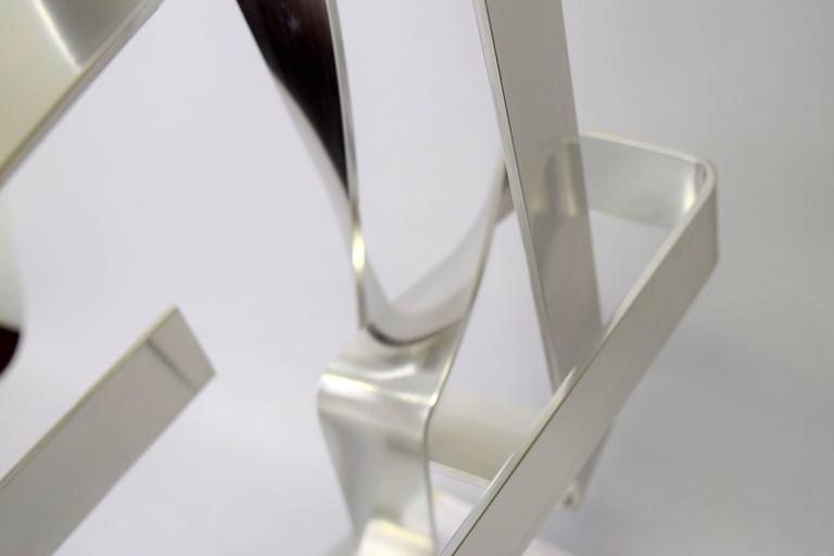 Dan Murphy Aluminum Ribbon Sculpture, 1977 7