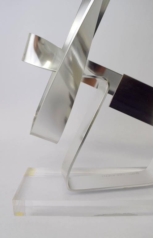Dan Murphy Aluminum Ribbon Sculpture, 1977 8