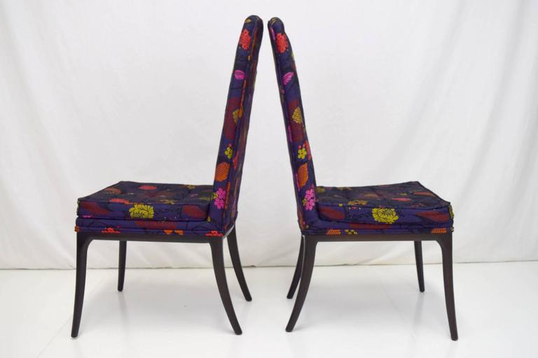 Erwin-Lambeth Tall Back Side Chairs, Pair 2