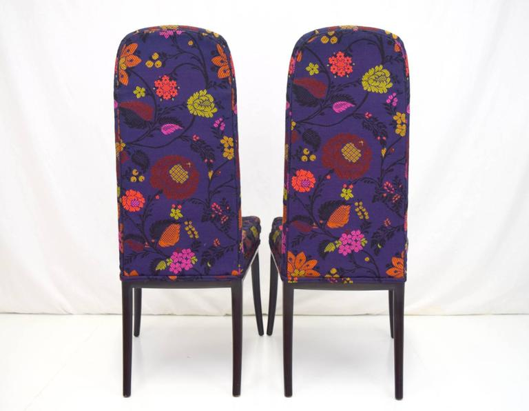 Erwin-Lambeth Tall Back Side Chairs, Pair 3