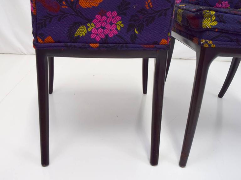 Erwin-Lambeth Tall Back Side Chairs, Pair 6