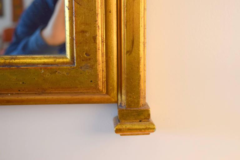 Hollywood Regency Gold Gilt Mirror 3
