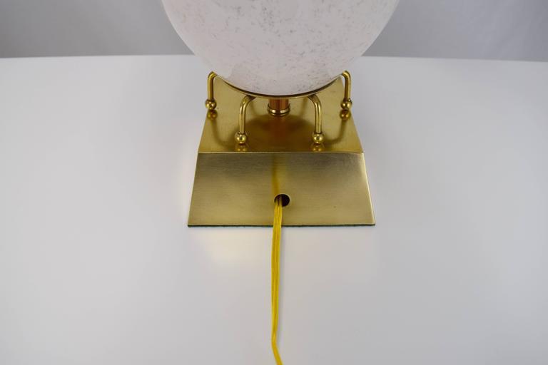 Pair of Hollywood Regency Greek Key Motif Ceramic Table Lamps For Sale 1