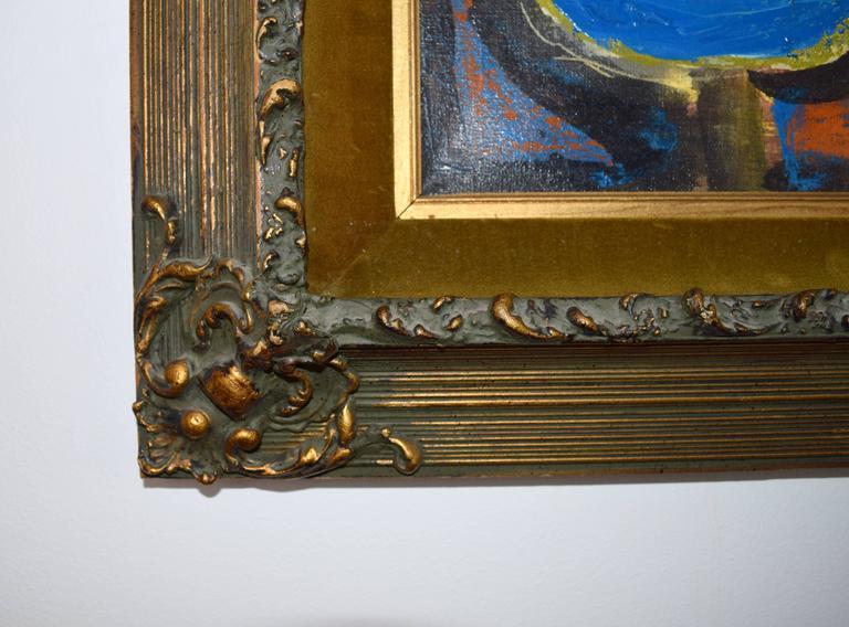 Aleksander Bozickovic, BOZ Abstract Figurative Oil Composition In Good Condition For Sale In Chicago, IL