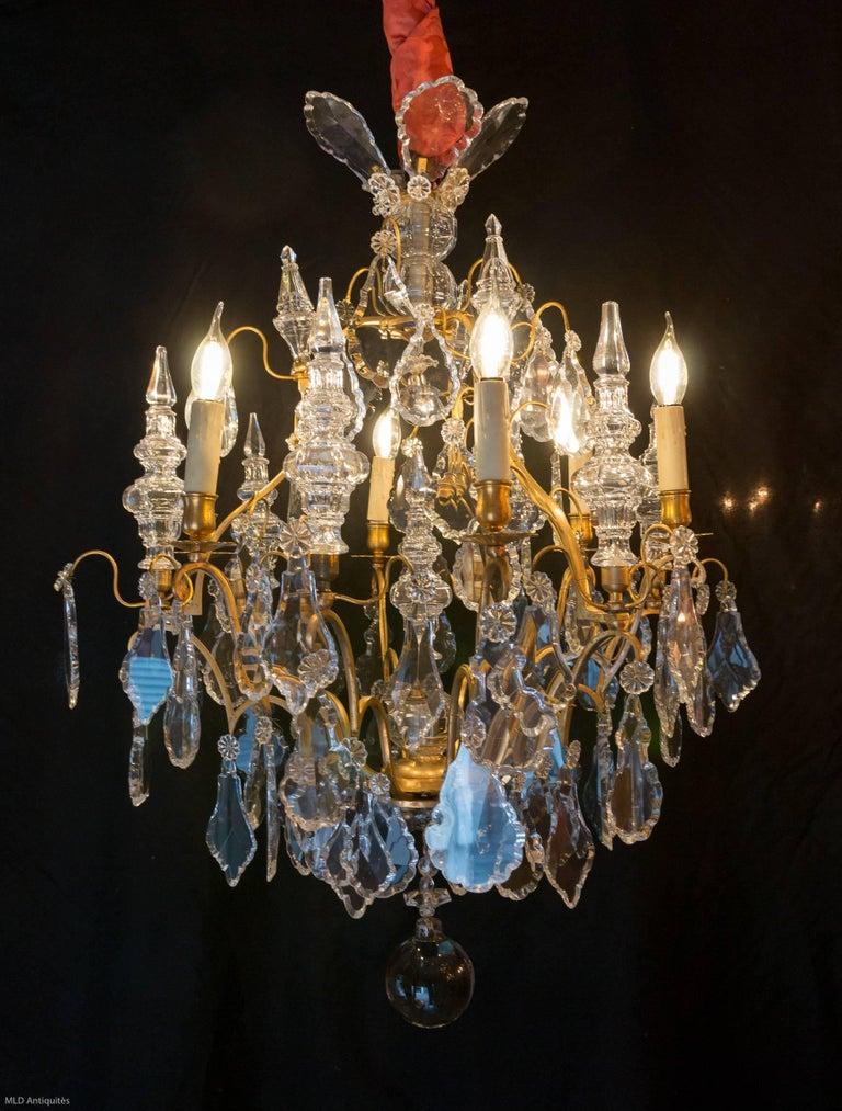 French Napoleon Iii Period Chandelier By Cristalleries De