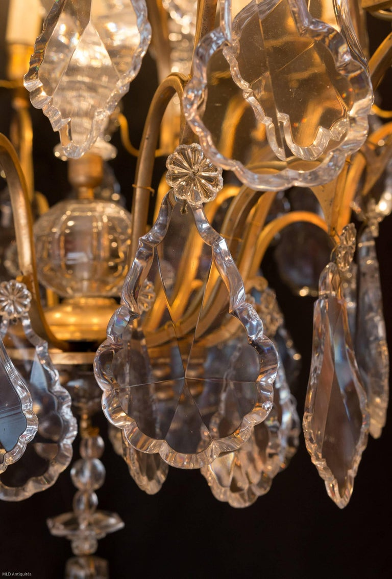 French Napoleon Iii Period Chandelier By Cristalleries De