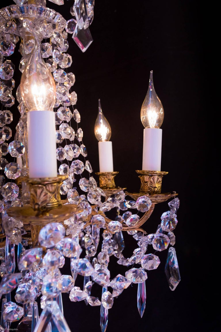 Cristalleries De Baccarat Early 20th Century Ormolu And