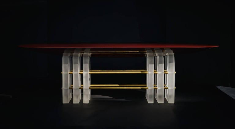 Segment 6 Dining Table by Apparatus 2
