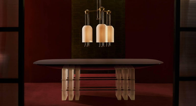 Segment 6 Dining Table by Apparatus 4