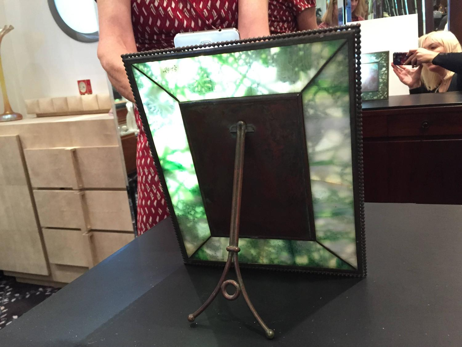 Tiffany Studios Quot Grapevine Quot Pattern Picture Frame New