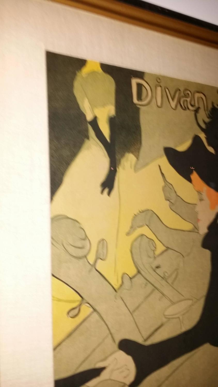 Henri de toulouse lautrec divan japonais lithograph in for Divan 6 letters