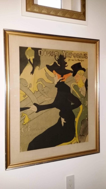 Henri de toulouse lautrec divan japonais lithograph in for Divan japonais toulouse lautrec