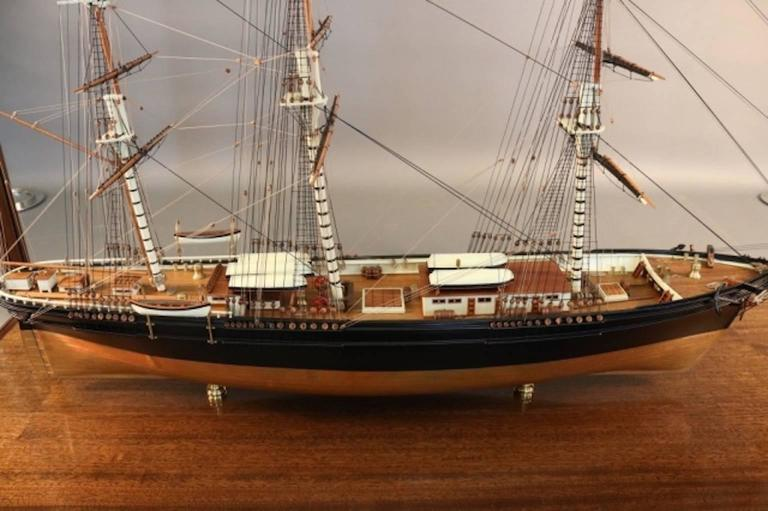 "Model of the Clipper Ship ""Flying Cloud"" For Sale 1"