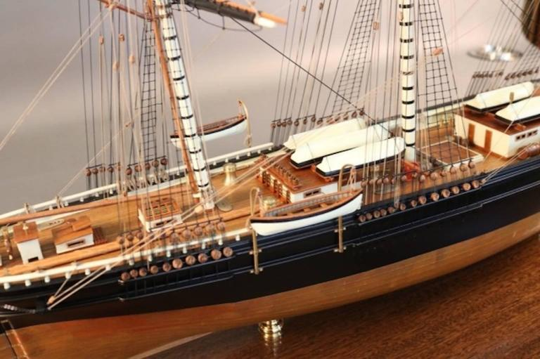 "Model of the Clipper Ship ""Flying Cloud"" For Sale 2"