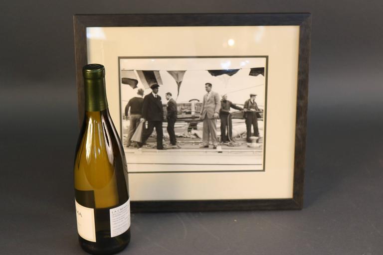 Original Press Photo of Harold Vanderbilt In Good Condition For Sale In Norwell, MA