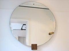 Andre Sornay Round Mirror Circa 1930