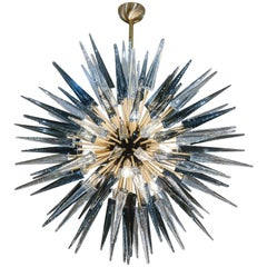 Exceptional Murano Glass Sputnik Chandelier