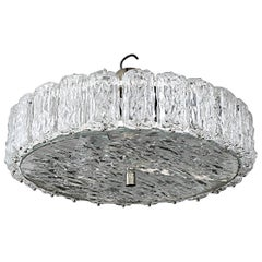 Murano Frosted Glass Chandelier
