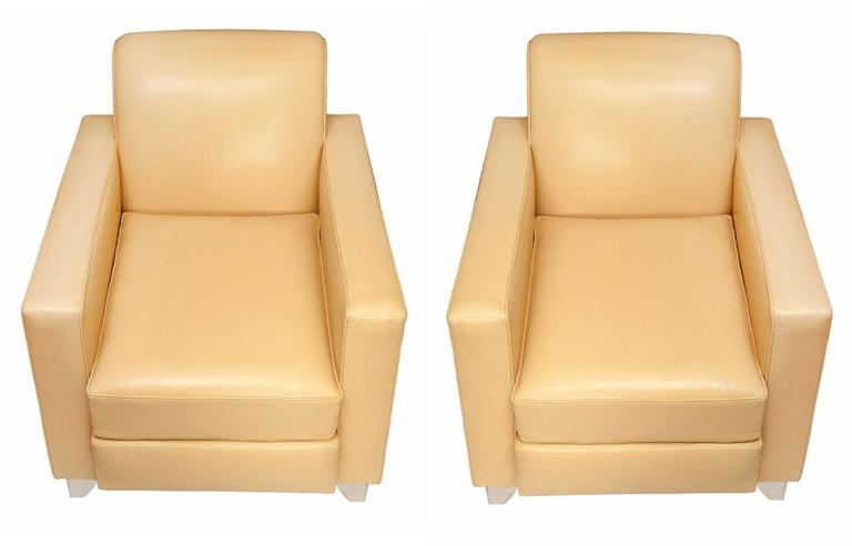 Pair of armchairs,