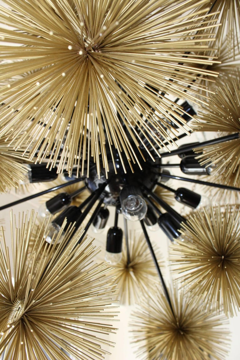 Beautiful and Unusual Sputnik Chandelier For Sale 1