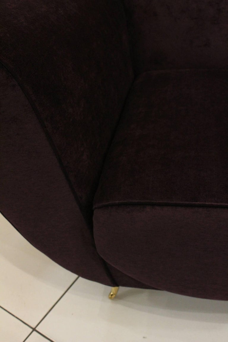 Beautiful Pair of Italian Armchairs In Excellent Condition For Sale In Saint-Ouen, FR