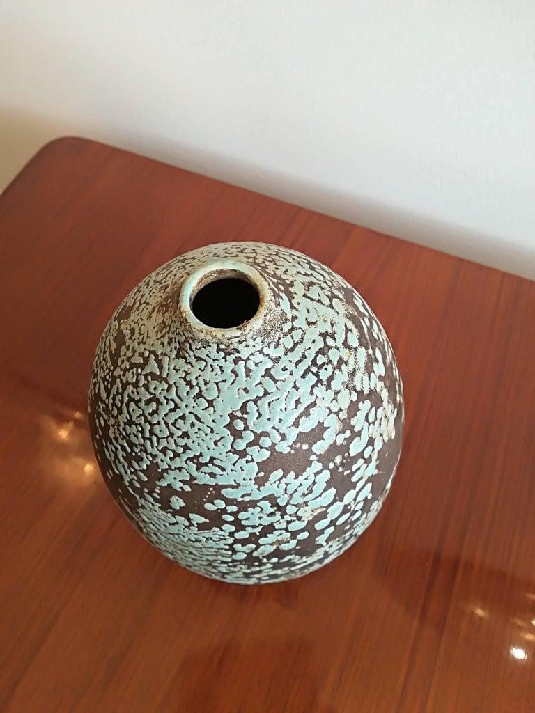 Jean Besnard Art Deco Ceramic Vase, circa 1930 3