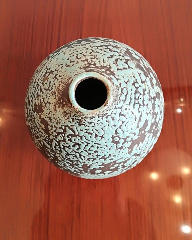 Jean Besnard Art Deco Ceramic Vase, circa 1930 4
