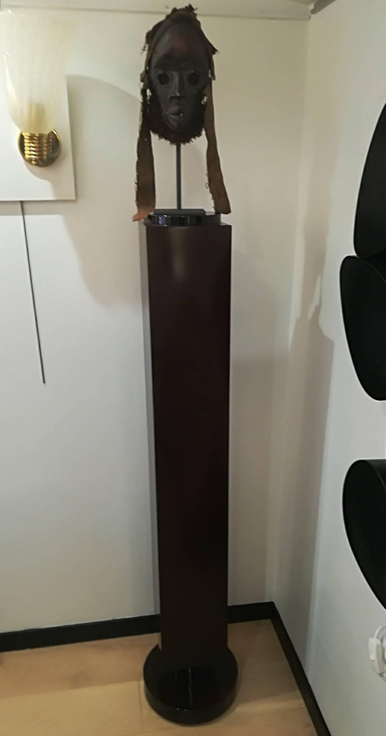 Mid-20th Century Art Deco Rosewood Pedestal Circa 1930 For Sale