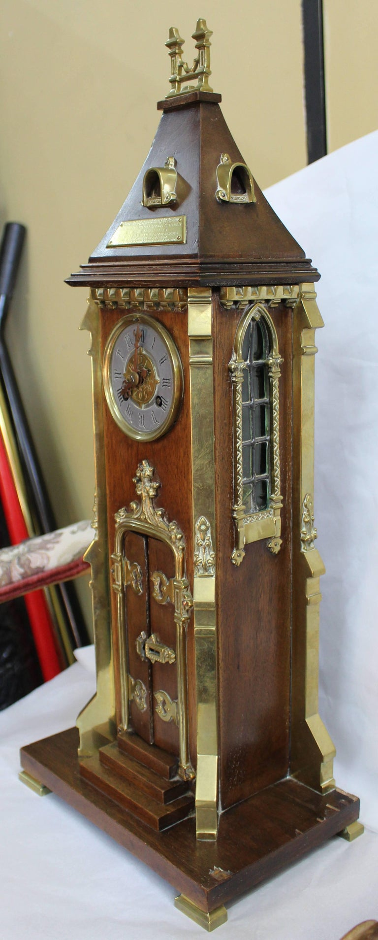 Arts And Crafts Style Mantel Clocks
