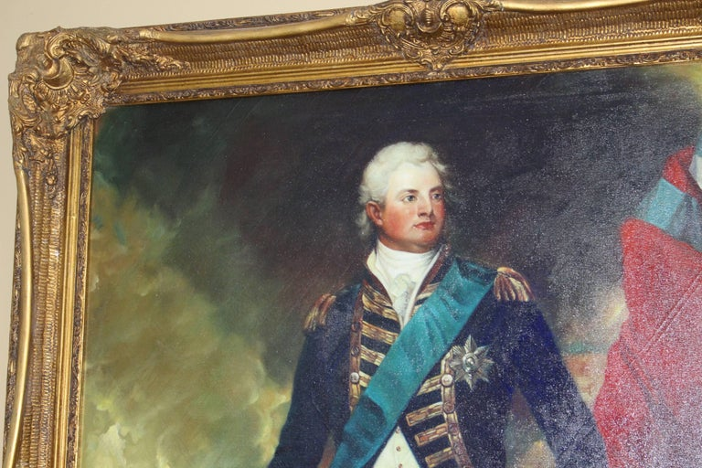 Subject Portrait Of Admiral Nelson Period Late 20th Century Medium Oil On Canvas Size 111