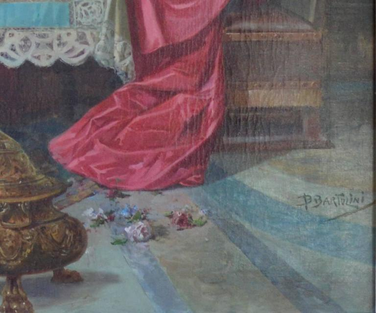 Other Impressive, Antique Oil on Canvas Signed Painting For Sale