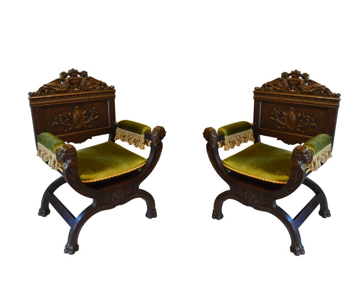 Modern savonarola chair - Modern Savonarola Chair 10